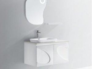 现代简约装修效果图 清新浴室柜满满的爱