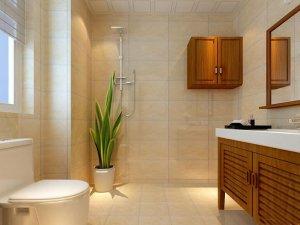 新中式风格卫浴间装修 传统文化内涵结合设计