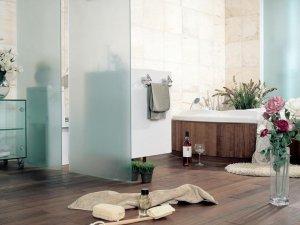 简约大方显得很温馨 现代简约风格卫浴间
