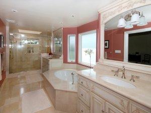 欧式风格卫生间装修图片展示 潮流浴室就是它