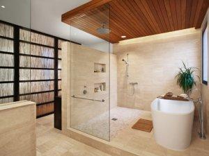 简约风格浴室装修设计图 居家首选卫浴间设计
