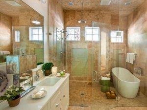 现代风格浴室装修图片展示 很实用很美观