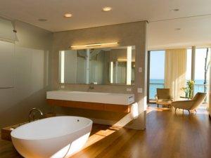简约风格浴室装修效果图 灵感设计美观浴室