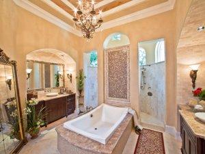 欧式风格卫生间装修设计效果图 4款欧式浴室鉴赏
