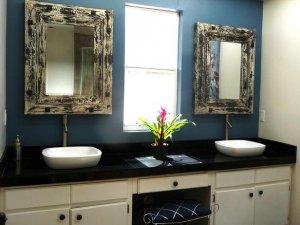 卫生间面盆装修设计效果图 时尚面盆实用设计