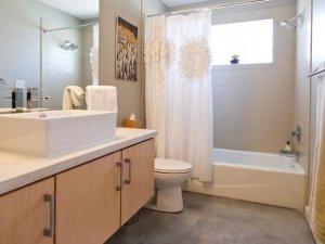 简约风格浴室效果图展示 居家设计浴室装修