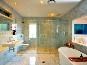 四款风格各有千秋 混搭风格浴室设计欣赏