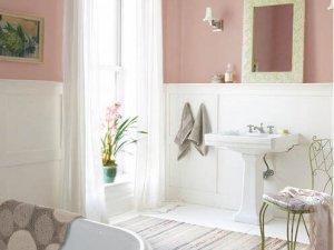 营造小清新小温馨 卫浴装修效果图