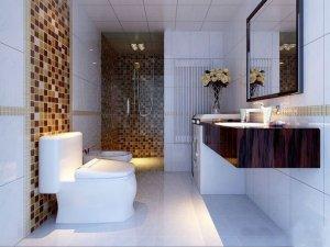 美式奢华风格 卫浴装修效果图