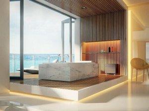 奢华品质卫浴体验 浴室装修效果图