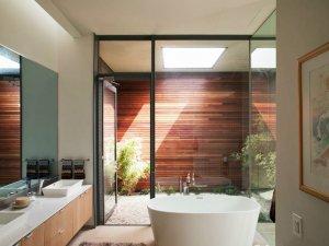 现代风格魅力无限 卫浴装修效果图