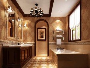欧式风格卫浴图片 尽享欧式别墅古典风范