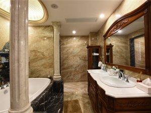 欧式风格卫浴装修效果图 别墅卫生间装修案例精选