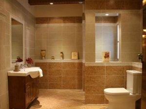 时尚别致的卫生间瓷砖花色欣赏