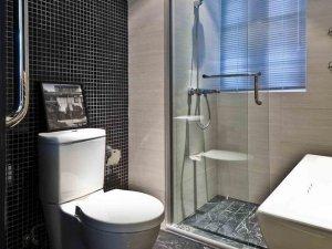 现代风格时尚卫浴间装修效果图