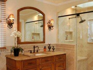 美式风格卫生间装修图片