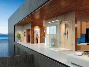 德立淋浴房 平开淋浴房