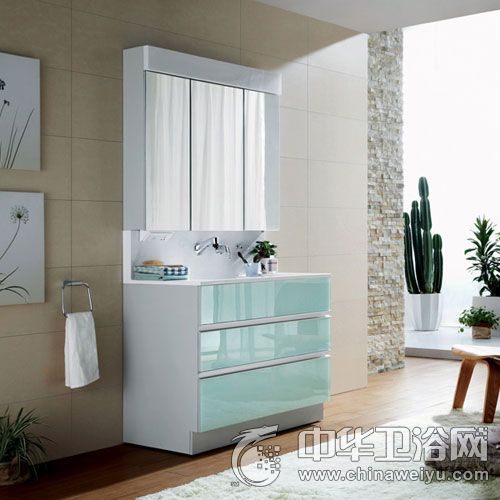 西文卫浴  落地式/镜箱浴室柜系列