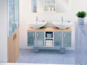 欧式风格卫生间背景墙装修设计