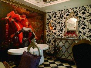 浪漫新古典别墅卫生间装修图片