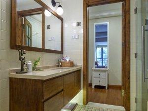古朴家装设计卫浴间图片