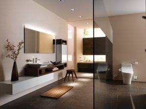 东陶卫浴卫生间装修效果图欣赏