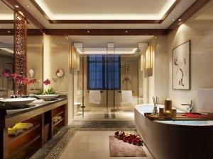 古典中式风格卫生间装修效果图欣赏