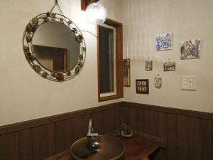 古朴幽静 传统日式卫生间设计装修图
