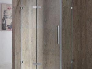 金莎丽卫浴一字形平来门淋浴房产品效果图