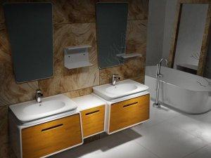 创意空间精致生活 宏浪卫浴产品效果图