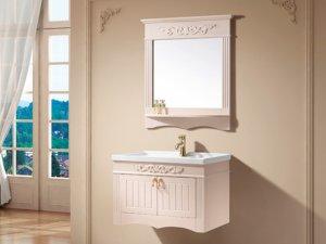 杜高卫浴简欧系列浴室柜产品效果图