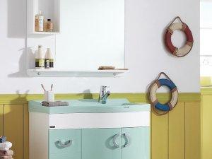 南希卫浴现代风格浴室柜装修效果图