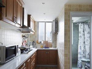 三居室美式风格卫生间装修效果图