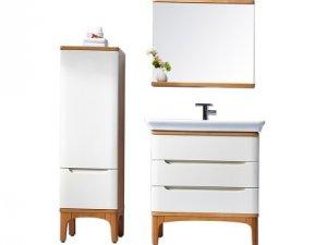 丰华卫浴现代简约风格浴室柜装修图片