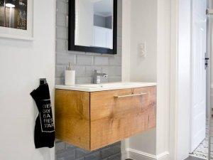 北欧风格卫生间浴室柜装修效果图