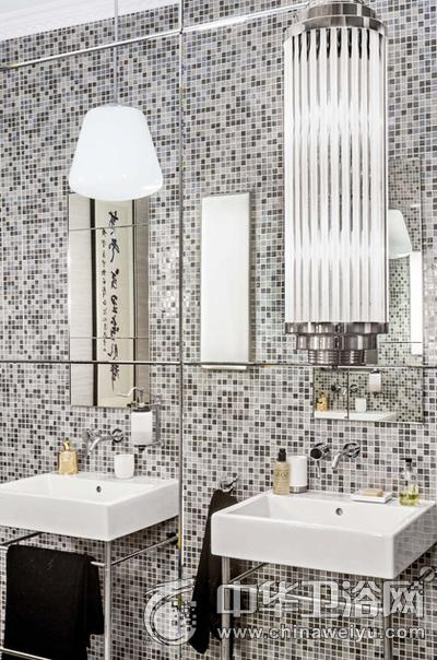温馨时尚现代家装卫生间装饰效果图