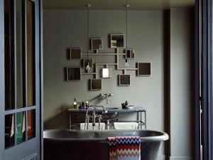 别墅舒适卫生间浴缸装饰效果图  浴缸效果图