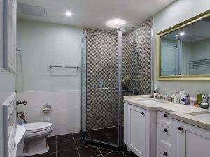 简欧卫生间装修效果图 卫生间筒灯装饰效果图