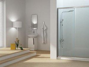 简约风格卫生间装修效果图 卫生间淋浴房装修效果图
