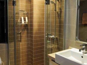 现代简易卫生间装修图片 卫生间淋浴房图片
