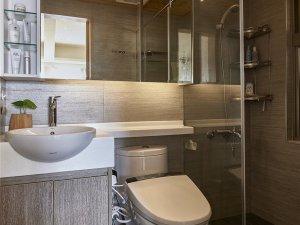 大户型家装整体卫生间装修图片 卫生间坐式马桶图片