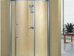 别墅玻璃浴室图片  玻璃淋浴房花洒装修图片