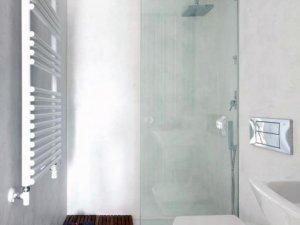 大户型卫生间玻璃隔断图片 卫生间隔断门图片