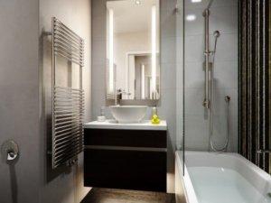 小户型简装卫生间装修效果图   简约卫生间图片