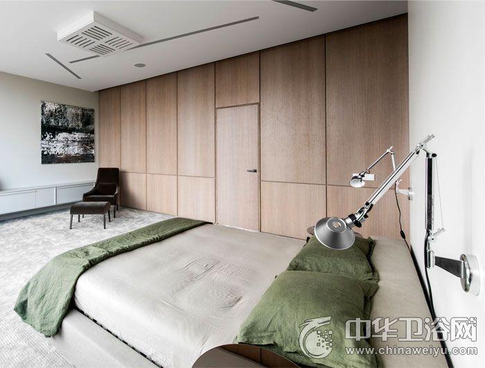 现代极简风格白色卫生间装修效果图 独立洗浴间效果图