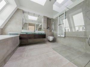 大卫生间浴室装修效果图  玻璃隔断装修效果图