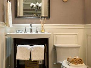 小卫生间洗漱台装修效果图 卫生间马桶图片