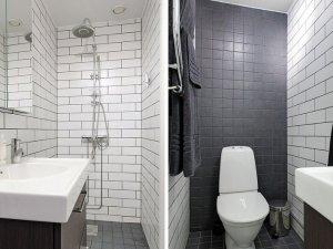 简约型卫生间花洒效果图 卫生间马桶图片