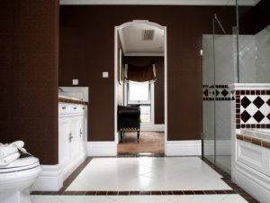 欧式卫生间装修效果图 大卫生间装修图片