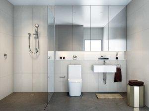 简约小卫生间装修效果图 卫生间马桶设计图片